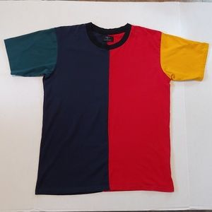 Colorblock cut and sew tee